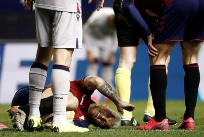 El Chimy Ávila sufre una rotura del ligamento cruzado anterior de la rodilla izquierda