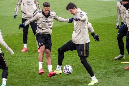 Bale vuelve a entrenar con el grupo; Mariano ausente