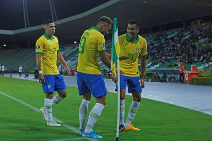 5-3. Reinier anota, Brasil clasifica pero Ábrego deja feliz a Bolivia