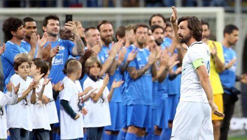 Andrea Pirlo entra en el Salón de la Fama del fútbol italiano
