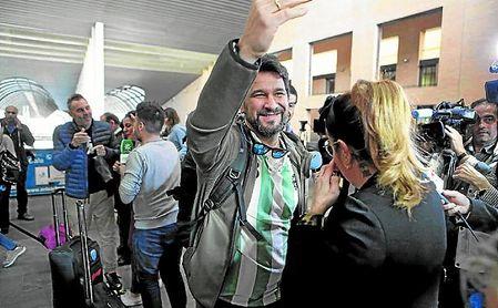 Manuel Vela, en Santa Justa.