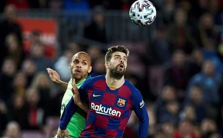 El danés Martin Braithwaite (Leganés), nuevo jugador del Barcelona