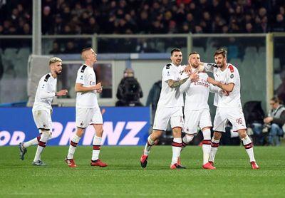 El chileno Pulgar niega el triunfo al Milan en Florencia (1-1)