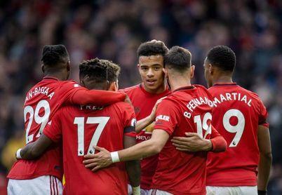 El United golea al Watford y Bruno Fernandes marca
