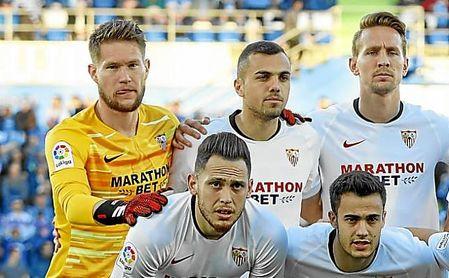 Vaclik tuvo que pedir el cambio al descanso del Getafe-Sevilla.