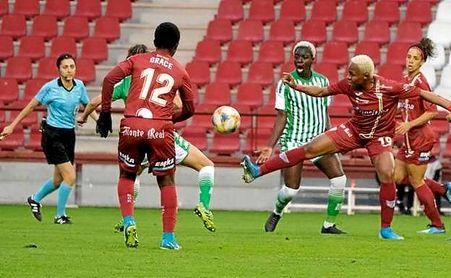 Las béticas se quedaron a las puertas de las semifinales en Las Gaunas.