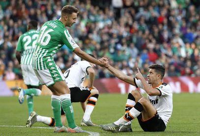El Betis ha perdido en catorce de sus dieciocho últimas visitas a Mestalla