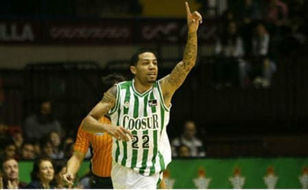 Erick Green encantado en Sevilla