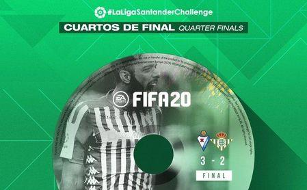 Borja Iglesias no ha podido avanzar más en el campeonato de eSports de LaLiga.
