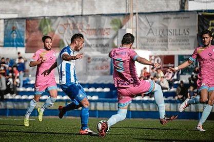 Lance de la UP Viso-Algabeño de la presente temporada en División de Honor.