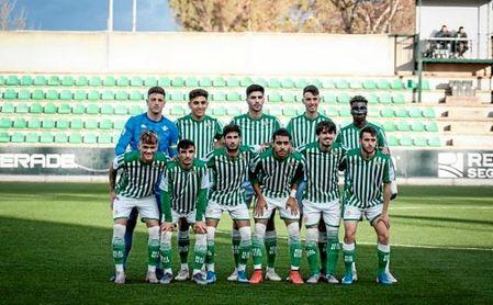 Once del Betis Deportivo frente a Los Barrios; el filial aguarda aún conocer si jugará o no los 'play off' de ascenso.