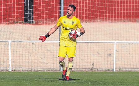 El meta Iván Casas es uno de los jugadores más importantes del Cabecense, donde es un referente.