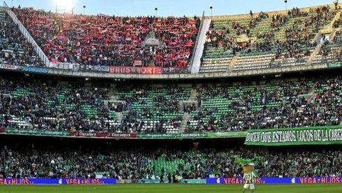 El Sevilla F.C.- Real Betis no se pudo disputar por la crisis del coronavirus.