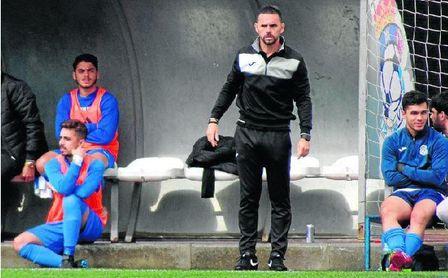 En la imagen, Dioni Arroyo, entrenador de la UP Viso.