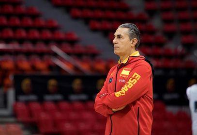 """Sergio Scariolo: """"Me falta la cancha, el balón, el baloncesto de verdad"""""""