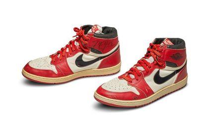 Unas Nike Air de Michael Jordan, vendidas por 560.000
