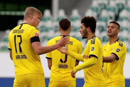 Achraf acentúa la presión al Bayern