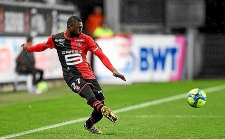 Hamari Traoré sólo tiene contrato con el Rennes hasta 2021.