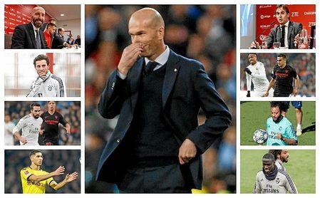 La decisión de Zidane que condiciona los planes del Sevilla