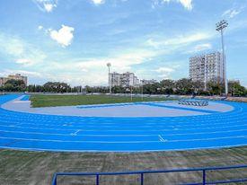 La nueva pista de atletismo de San Pablo acoge el Campeonato de España sub 23.