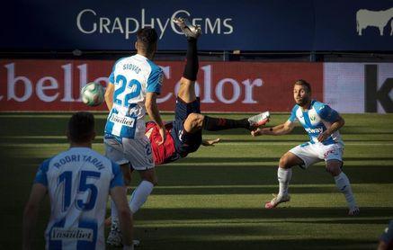 2-1. Enric Gallego hunde al Leganés y firma virtualmente la permanencia