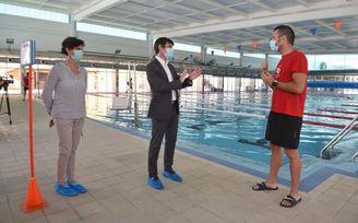 Arranca en Sevilla la campaña de verano de piscinas municipales para baño social, recreativo y campus con aforo limitado