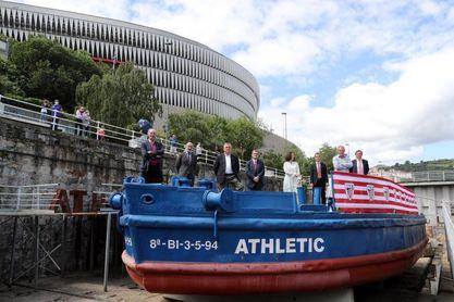 El Athletic sufragará la restauración de la Gabarra con unos 200.000 euros