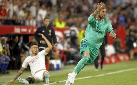 Ocampos quiere seguir en el Sevilla.