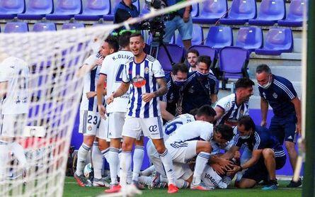 1-0. Joaquín da tres puntos de oro al Real Valladolid