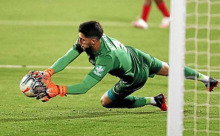 Rui Silva está firmando una gran temporada en el Granada.
