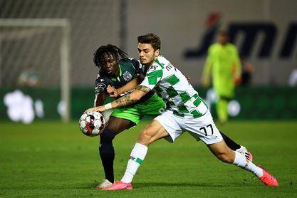 El Sporting no pasa del empate con el Moreirense