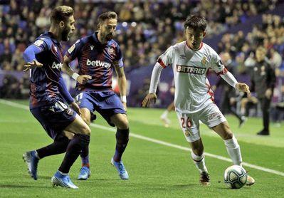 El Mallorca necesita ganar al Levante para soñar con la permanencia