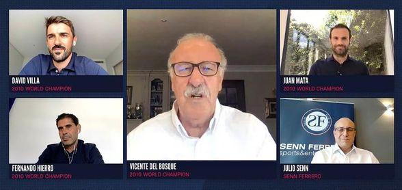 """Del Bosque: """"En Sudáfrica se hizo bien todo lo que los entrenadores queremos"""""""