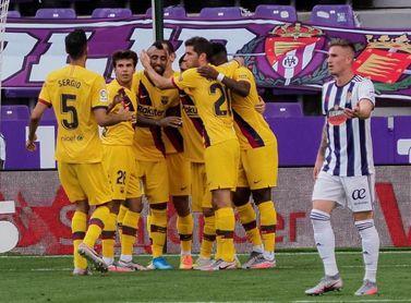 0-1. Vidal sostiene al Barcelona en la lucha