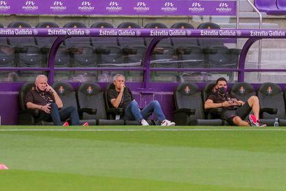 Luis Suárez suplente; el Real Valladolid con un solo delantero;