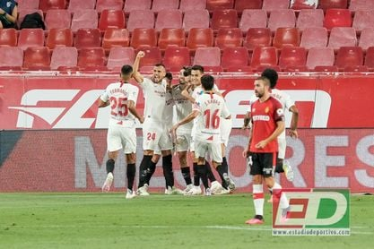 El Sevilla supera los 3.000 puntos en la clasificación histórica de La Liga