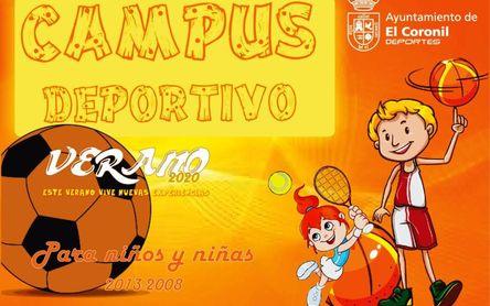 Amplio programa deportivo veraniego en El Coronil
