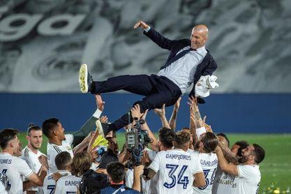 """Zidane: """"Debemos respetar el campeonato"""""""
