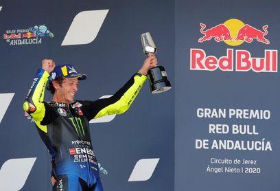 """Rossi dice sobre su podio que """"es especial, venía de un fin de semana malo"""""""