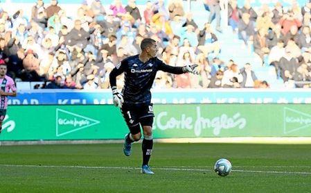 Joel Robles, entre los objetivos del Atlético