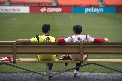 Xavi homenajea a su amigo Casillas
