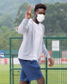 El Athletic regresa a Lezama para pasar las pruebas médicas