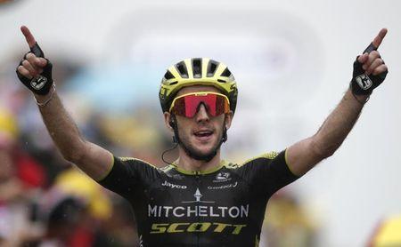Simon Yates, ganador de la Vuelta 2018, renueva dos años con el Mitchelton