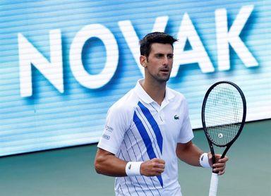 Djokovic podría encontrase con Zverev o Tsitsipas en semifinales