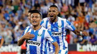En el Leganés, Óscar ha sido compañero de En-Nesyri, Roque Mesa, Amadou, Bryan Gil y Juan Soriano.