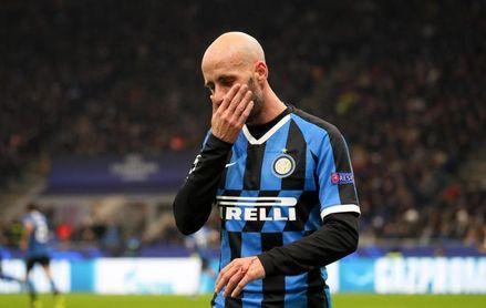 El español Borja Valero anuncia que deja el Inter