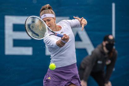 Pliskova vence con facilidad a la ucraniana Kalinina y pasa a segunda ronda