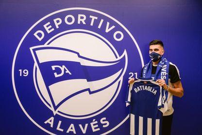 Battaglia: Era un anhelo personal jugar en un club como el Alavés