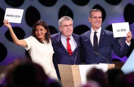 Los JJOO de Los Ángeles en 2028 apuestan por un emblema digital y evolutivo