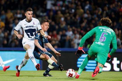 Mayorga dice que jugar bien con Pumas le facilitará el camino a la selección